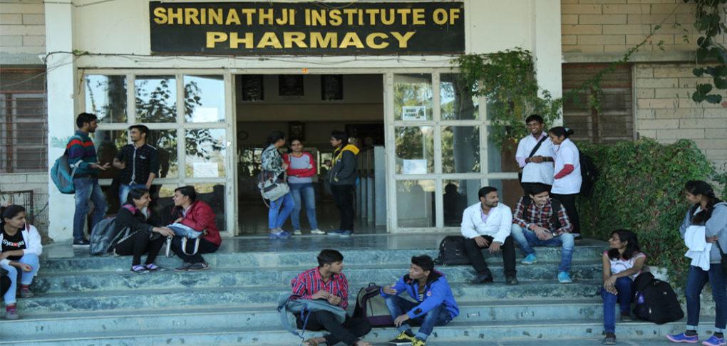 Shrinathji Pharmacy College life